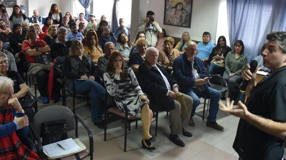 En la ceremonia de apertura uno de los oradores fue el jefe del Departamento de Salud Mental del Hospital Zonal de Caleta Olivia, Alejandro De Lisio.