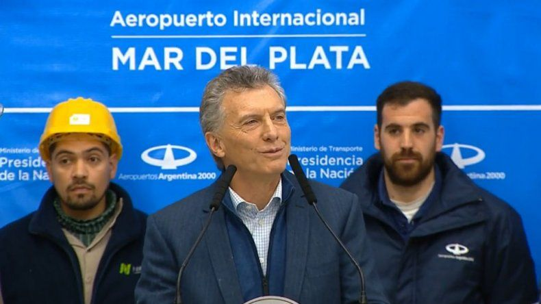 Macri: me estoy haciendo cargo de llevar alivio a las familias