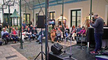 Espectáculos musicales integraron la propuesta que se desarrolló en la Casa de San Juan en Buenos Aires.
