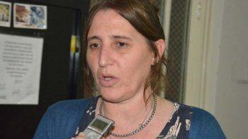 Verónica Rosales, referente de ATE Comodoro Rivadavia.