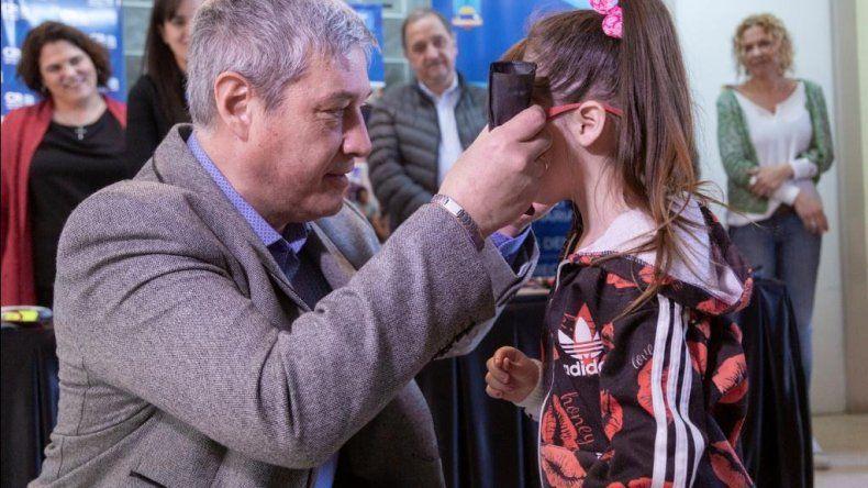Anunciaron el primer consultorio oftalmológico municipal