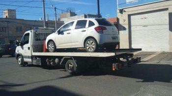 con apoyo de sustraccion de automotores recupero el auto que se dejo su ex