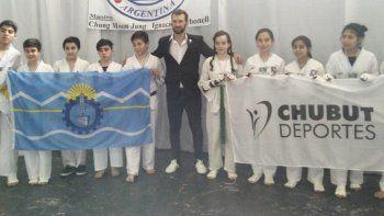 Chubut ya tiene definidos a los taekwondistas que competirán para la provincia en la instancia nacional de los Juegos Evita.