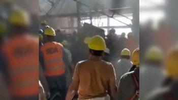 Tragedia en Ezeiza: qué dice el último parte médico del obrero internado