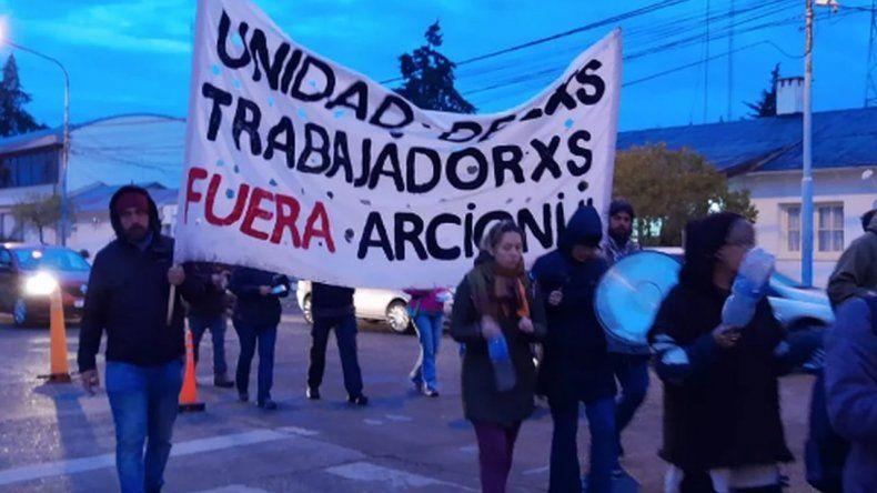 Cacerolazo de docentes frente a Casa de Gobierno