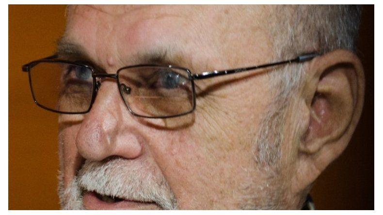 Emilio Papousek fue el intendente de Caleta Olivia entre 1983 y 1987.