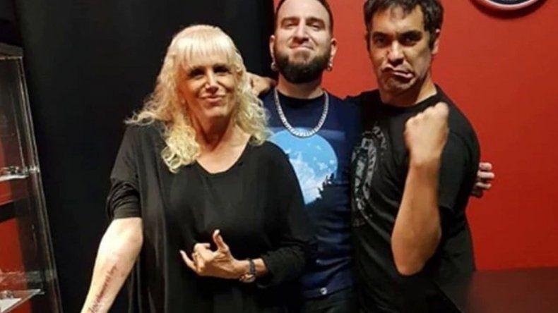 Valeria Lynch y Mariano Martínez fueron juntos a hacerse un tatuaje