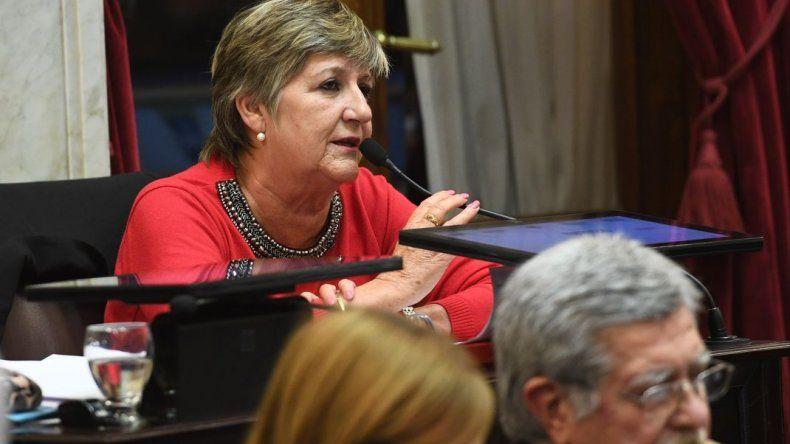 La senadora Gonzalez se refirió a la crisis sanitaria frente a nuevos casos de sarampión
