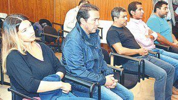 Diego Correa -segundo de izquierda a derecha- está acusado de ser jefe de la asociación ilícita.