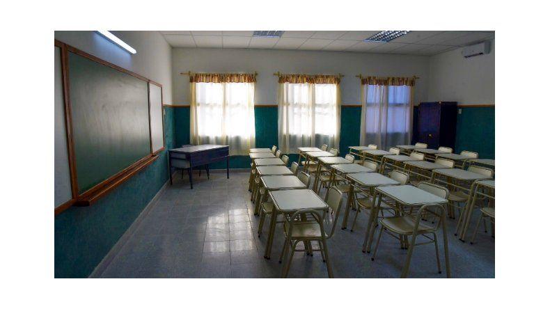Ya son once las semanas sin clases en Chubut.
