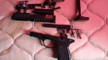 Incautan cuatro armas a partir de una denuncia por amenazas