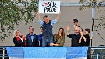 Macri mezcló a San Martín con el Sí se puede