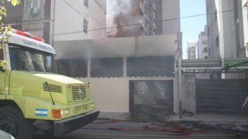 se incendio el hotel donde se hospedaba la delegacion de chubut deportes