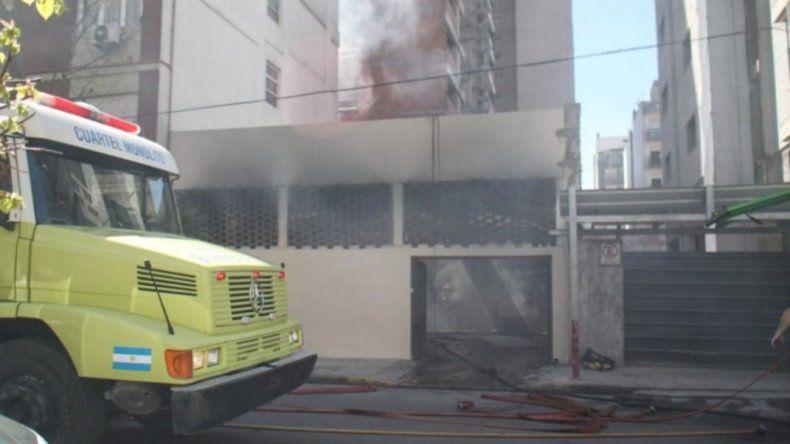 Se incendió el Hotel donde se hospedaba la delegación de Chubut Deportes