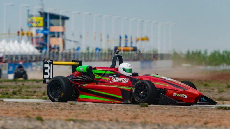 Thomás Micheloud espera tener revancha para la próxima fecha de la Fórmula Metropolitana que se correrá en La Plata.