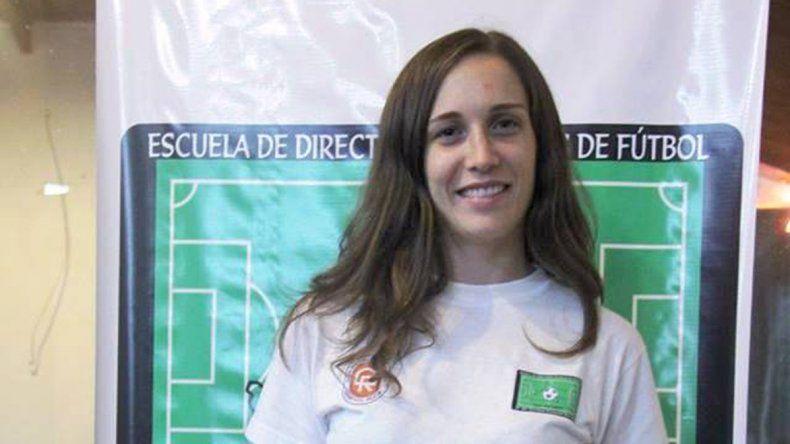La joven entrenadora Juliana Rodríguez visitará Rada Tilly para brindar sus conocimientos sobre fútbol.