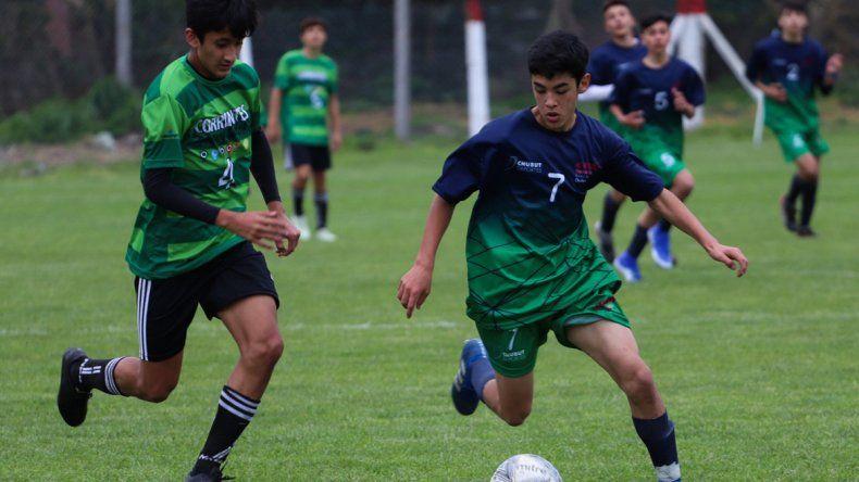 El fútbol masculino también arrancó con el pie derecho en la instancia nacional de los Juegos Evita.