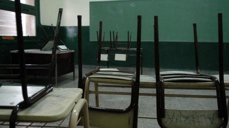 Los docentes privados se sumaron ayer al paro en Chubut