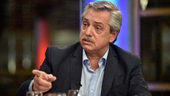 Alberto Fernández habló sobre la liberación de Cristóbal López y De Sousa