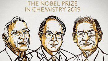 nobel de quimica para john goodenough, stanley whittingham y akira yoshino