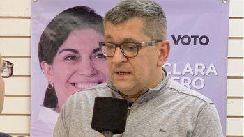 Gastón Acevedo, candidato a viceintendente de Juntos por el Cambio.