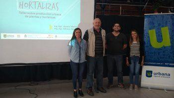 Urbana realizó un nuevo taller abierto a la comunidad, esta vez sobre hortalizas.