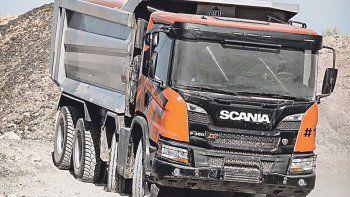 scania presento los camiones xt,  su linea off road