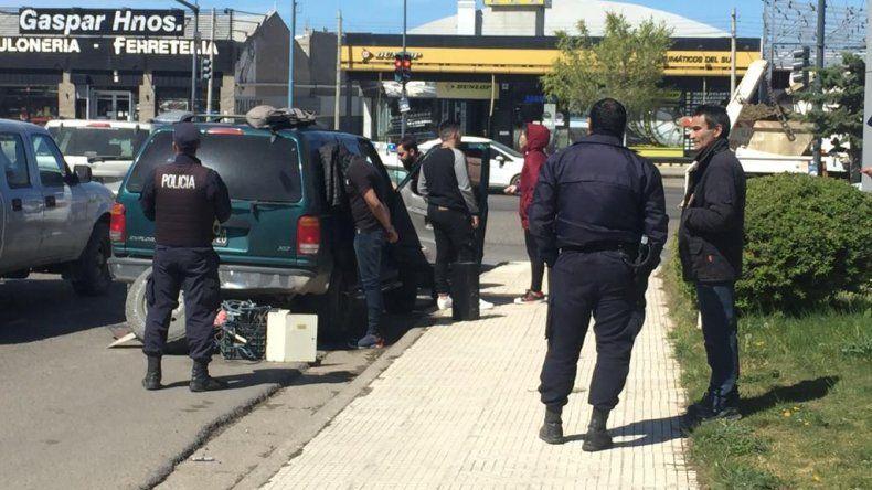 Juan Pablo Coronel fue detenido ayer a las 11:20 en Polonia casi Yrigoyen con un kilo de cocaína que transportaba en una camioneta Ford Explorer.