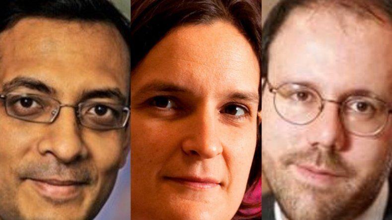 Ganaron el Nobel por sus trabajos sobre la lucha contra la pobreza