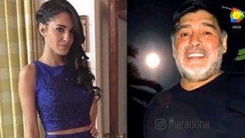 Apareció una nueva supuesta hija de Maradona