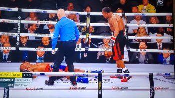 boxeador esta en coma luego de un brutal nocaut