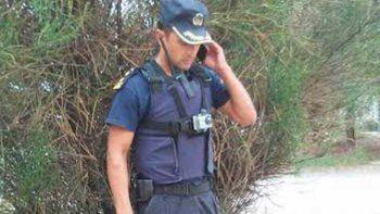 El comisario Miguel Gómez brindó pormenores del hecho que dejó sin celulares a varias localidades del valle.