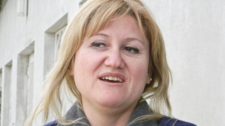 Sirley García, concejal por el Partido Justicialista.