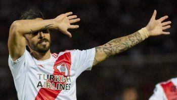 Ignacio Scocco será esta tarde titular en el ataque millonario.