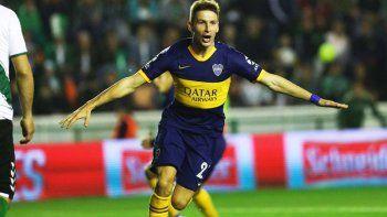 Franco Soldano estará esta noche desde el inicio en la formación de Boca.