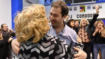 Juan Pablo Luque participó en El Hoyo del acto central que se realizó en Chubut por el Día de la Lealtad Peronista.