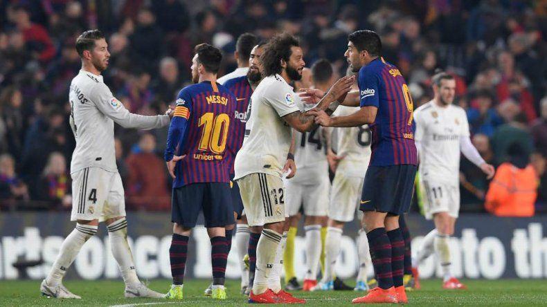 Se postergó el clásico entre Barcelona y Real Madrid por el conflicto en Cataluña