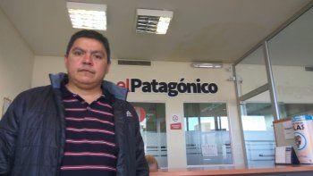 Ruiz se encuentra desde el domingo en Comodoro Rivadavia luego de trece meses detenido en Buenos Aires.