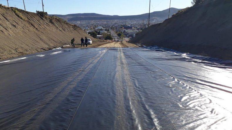 En unos 20 días el municipio espera habilitar el tránsito en la avenida Constituyentes.