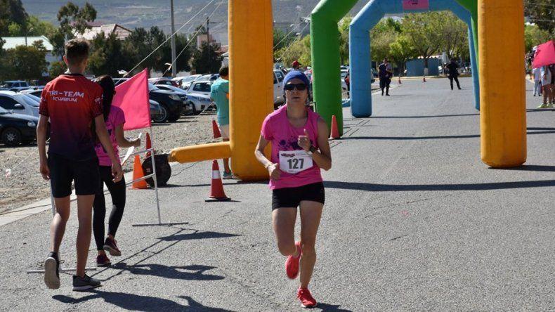 Cinthia Pinto se quedó con la 15ª Carrera de la Mujer