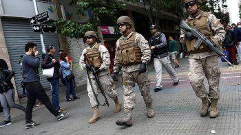 El jefe del operativo militar dice que no está en guerra con nadie