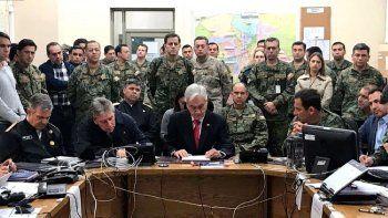 Sebastián Piñera: estamos en guerra contra un enemigo poderoso