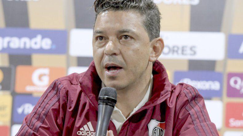 Marcelo Gallardo afirmó que sigan creyendo en este equipo. Ese es mi mensaje y es lo que la gente cree. Con eso me alcanza.