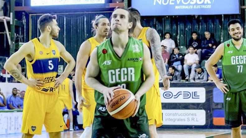 Carlos Manuel Buendía viene de cumplir una brillante actuación en el triunfo de Gimnasia ante Boca en el Socios Fundadores.