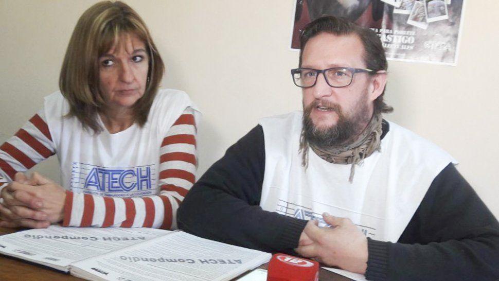 Santiago Goodman, titular del gremio que decidió levantar el paro para que no los alcancen los descuentos por no trabajar.