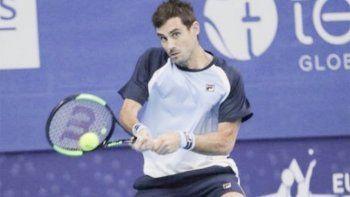 Guido Pella debutó en el ATP 500 de Viena y se despidió de manera temprana.