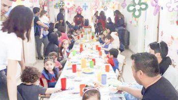 celebraron semana de la familia en jardin maternal