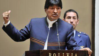 evo morales denuncio un intento de golpe de estado en bolivia