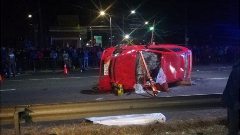 Automovilista embistió a una manifestación contra Piñera en Chile y mató a dos personas