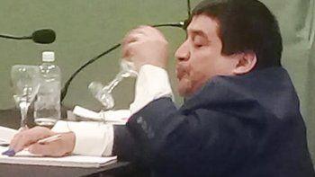 Oscar Chito Alarcón afronta un juicio por presunto enriquecimiento ilícito.